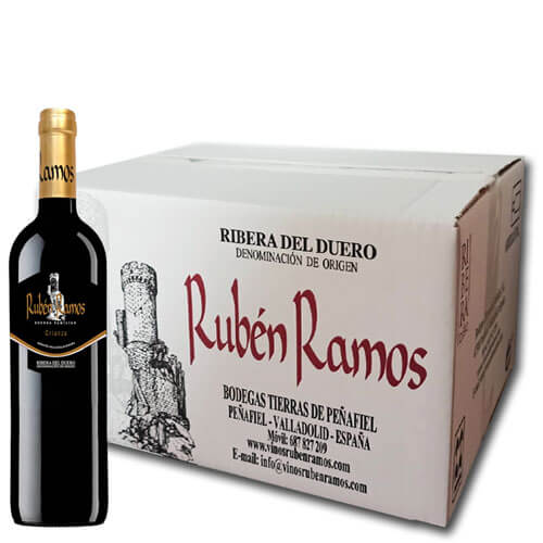 Box of 6 bottles Rubén Ramos Crianza