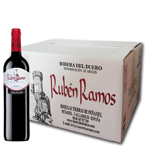 Box 6 Bottles Rubén Ramos Oak